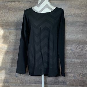 Ann Taylor Sheer Blouse